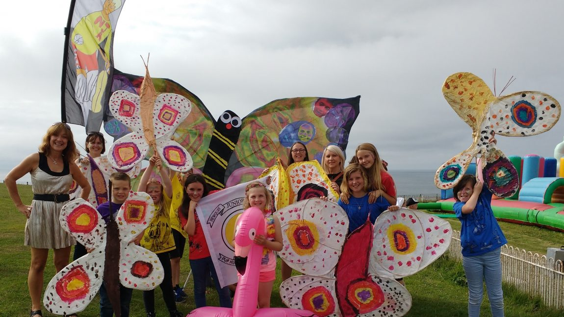 NJA at Newquay Carnival