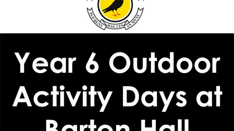 Year 6 Outdoor Activity Days at Barton Hall